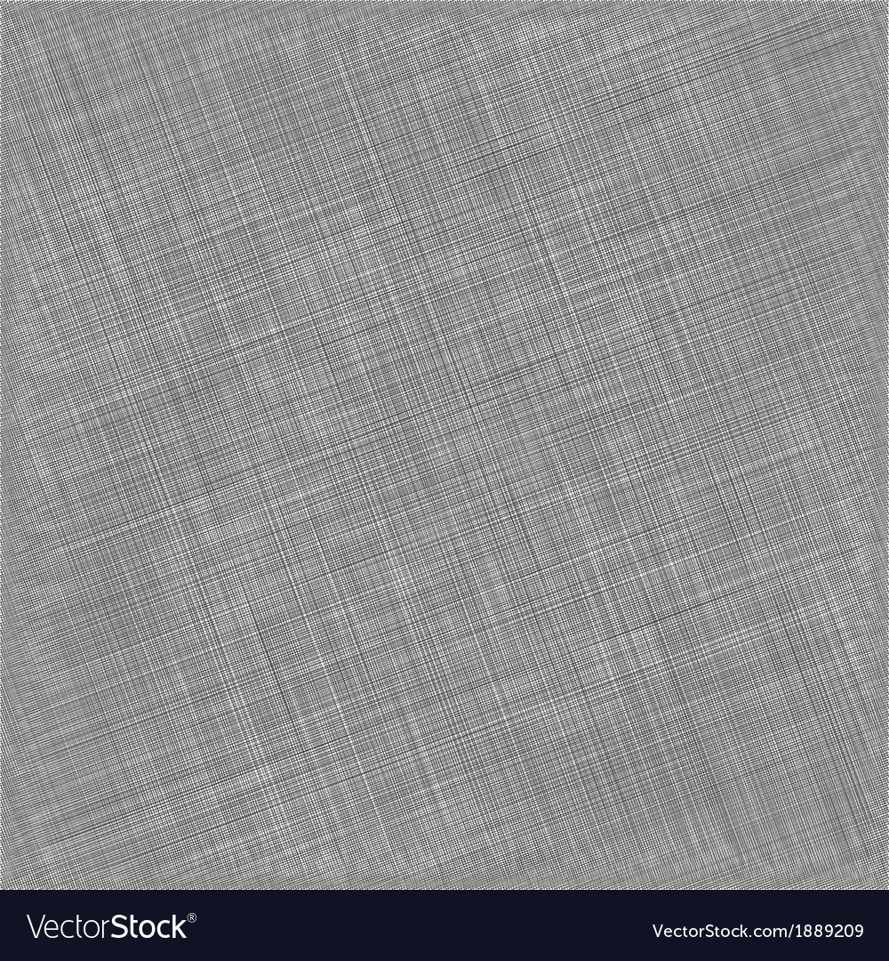 Black Natural Cotton Fabric Textile Background Vector Image