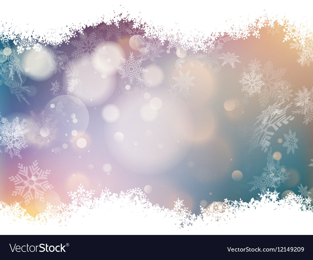 Blue and Red Bokeh Background EPS 10 vector image