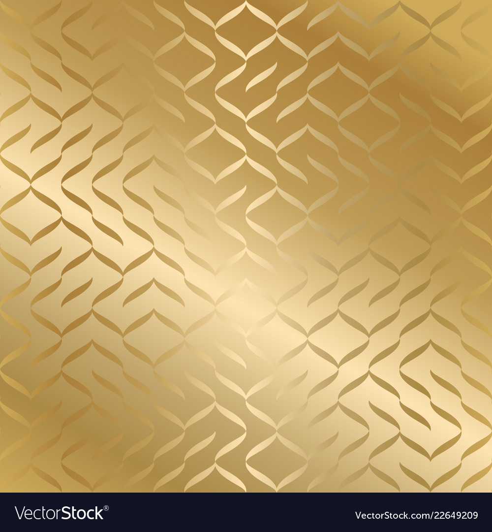 Geometric seamless golden texture gold wrapping