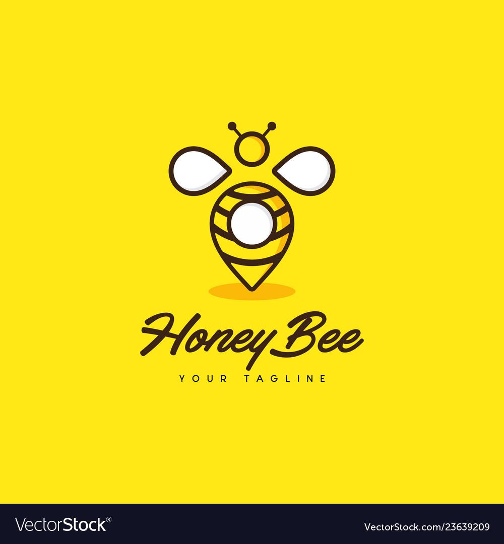 Honey bee point