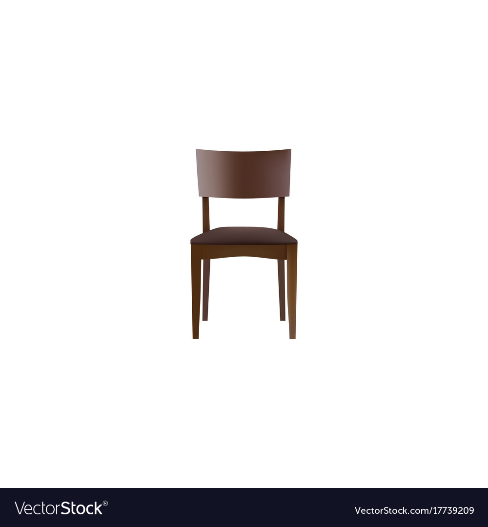 Realistic stool element of