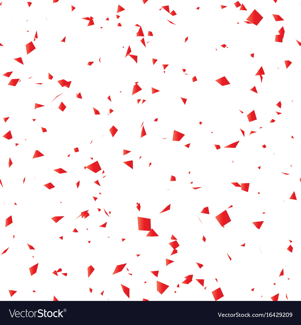 Seamless pattern glass fragments concept vector image