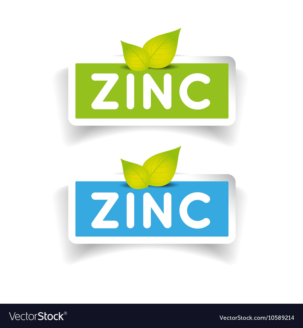 Zinc label set