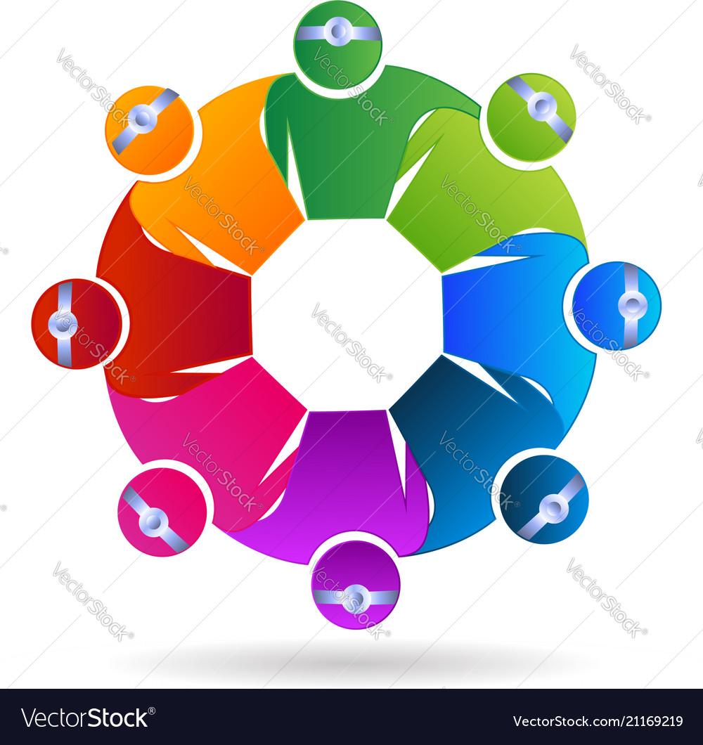 Doctor medical teamwork people symbol