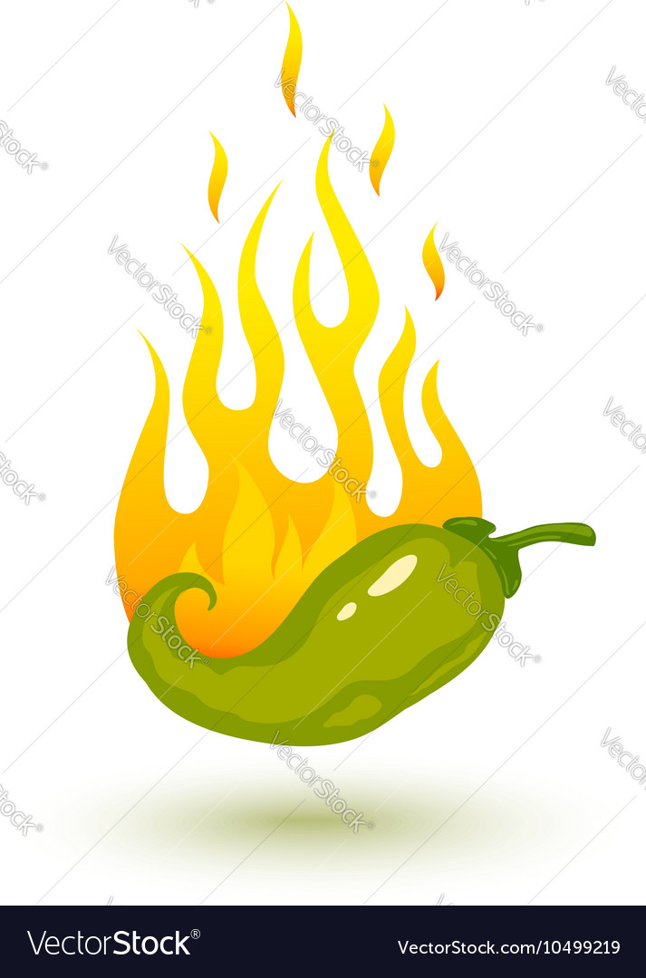 Green chili fire shadow