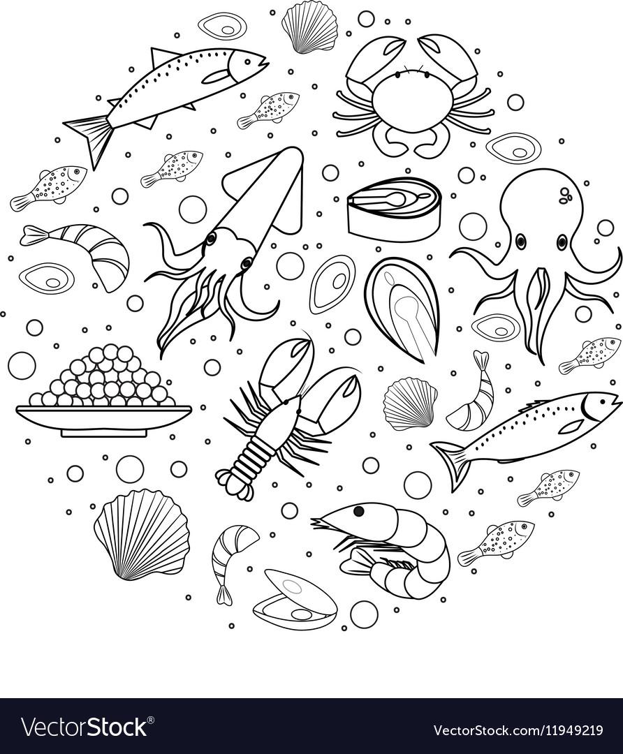 фото раскраска икра рыбы прекрасное