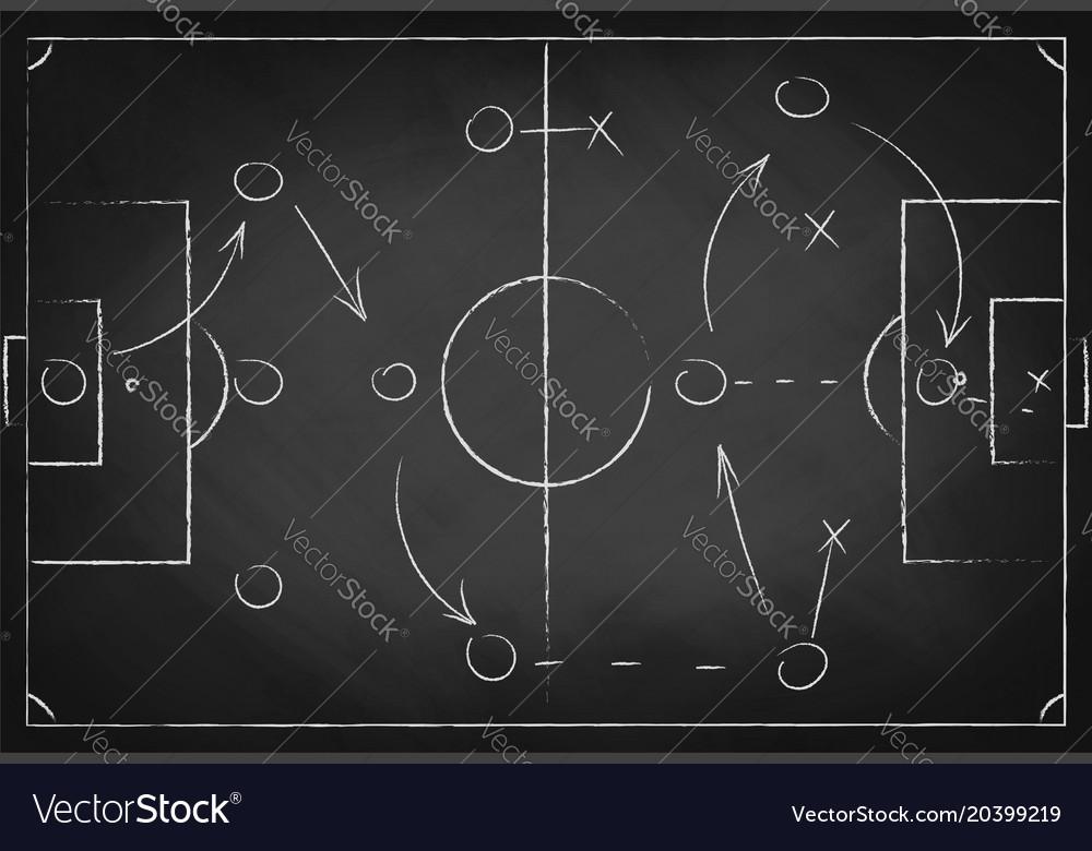 Chalkboard football