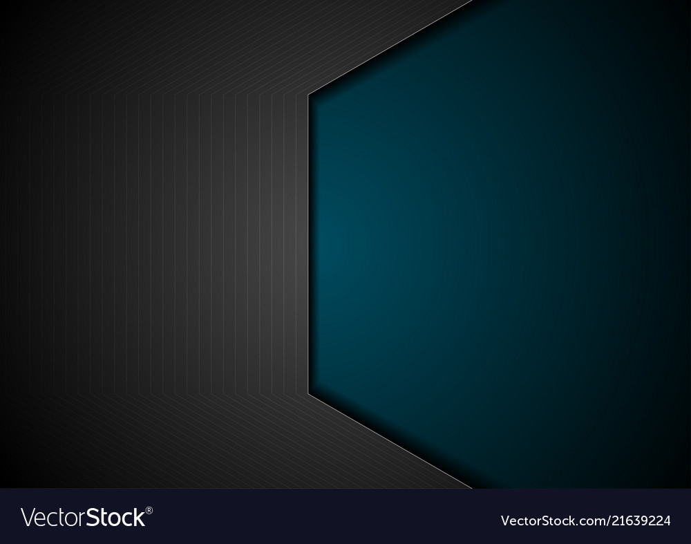 Dark blue and black technology background