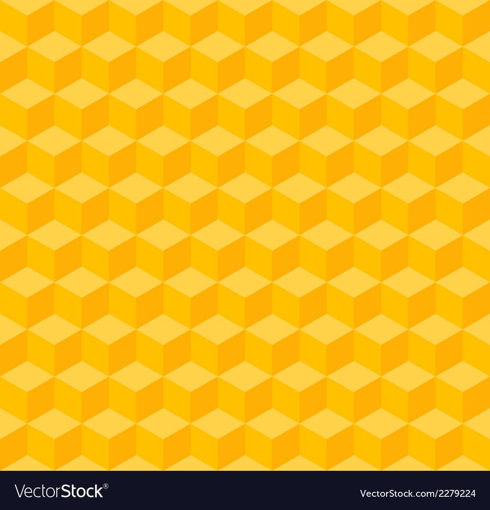 Yellow geometric seamless background