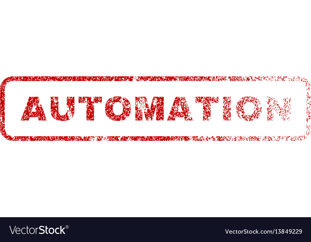 Automation rubber stamp