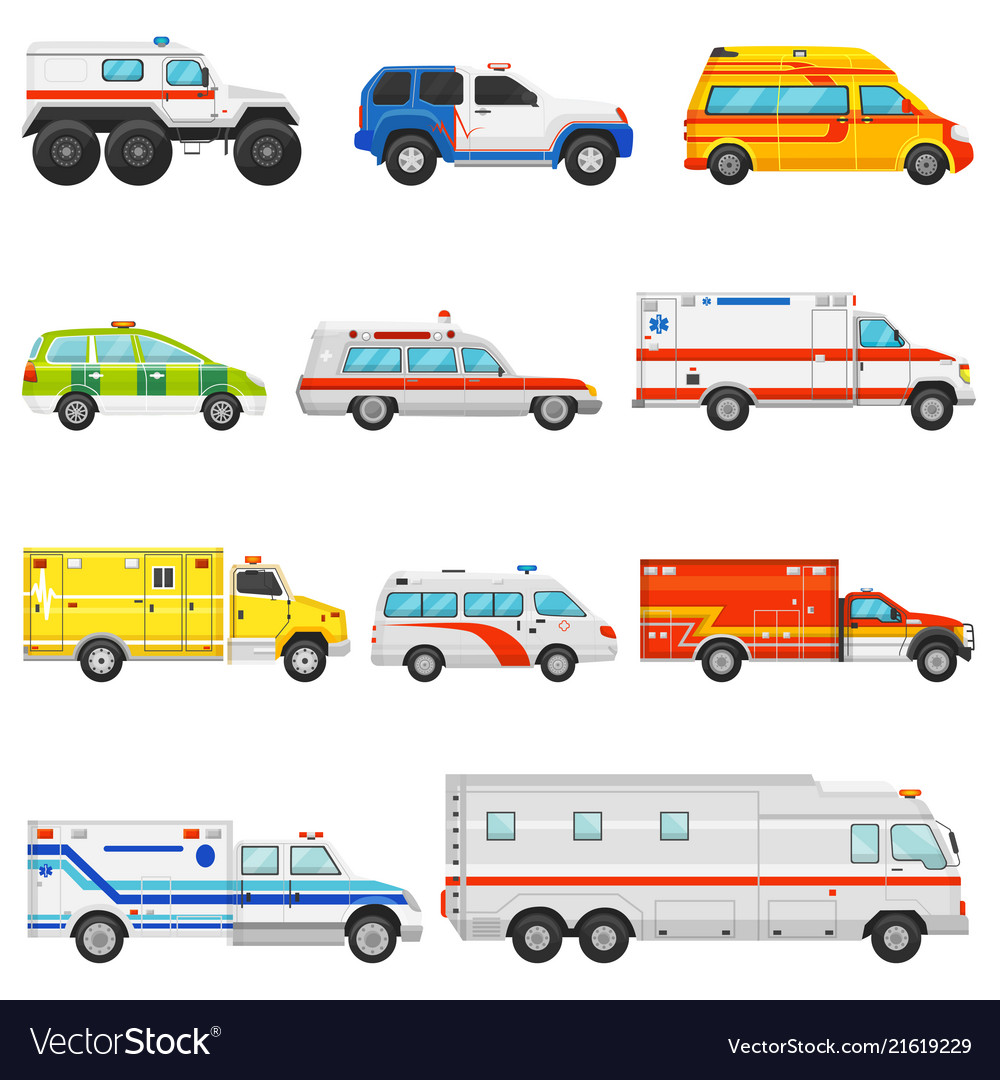 Emergency vehicle ambulance transport and