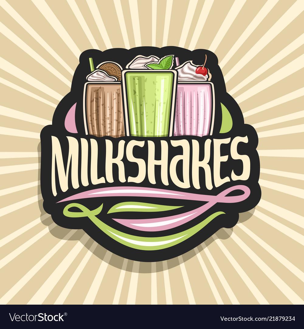 Logo for milkshakes