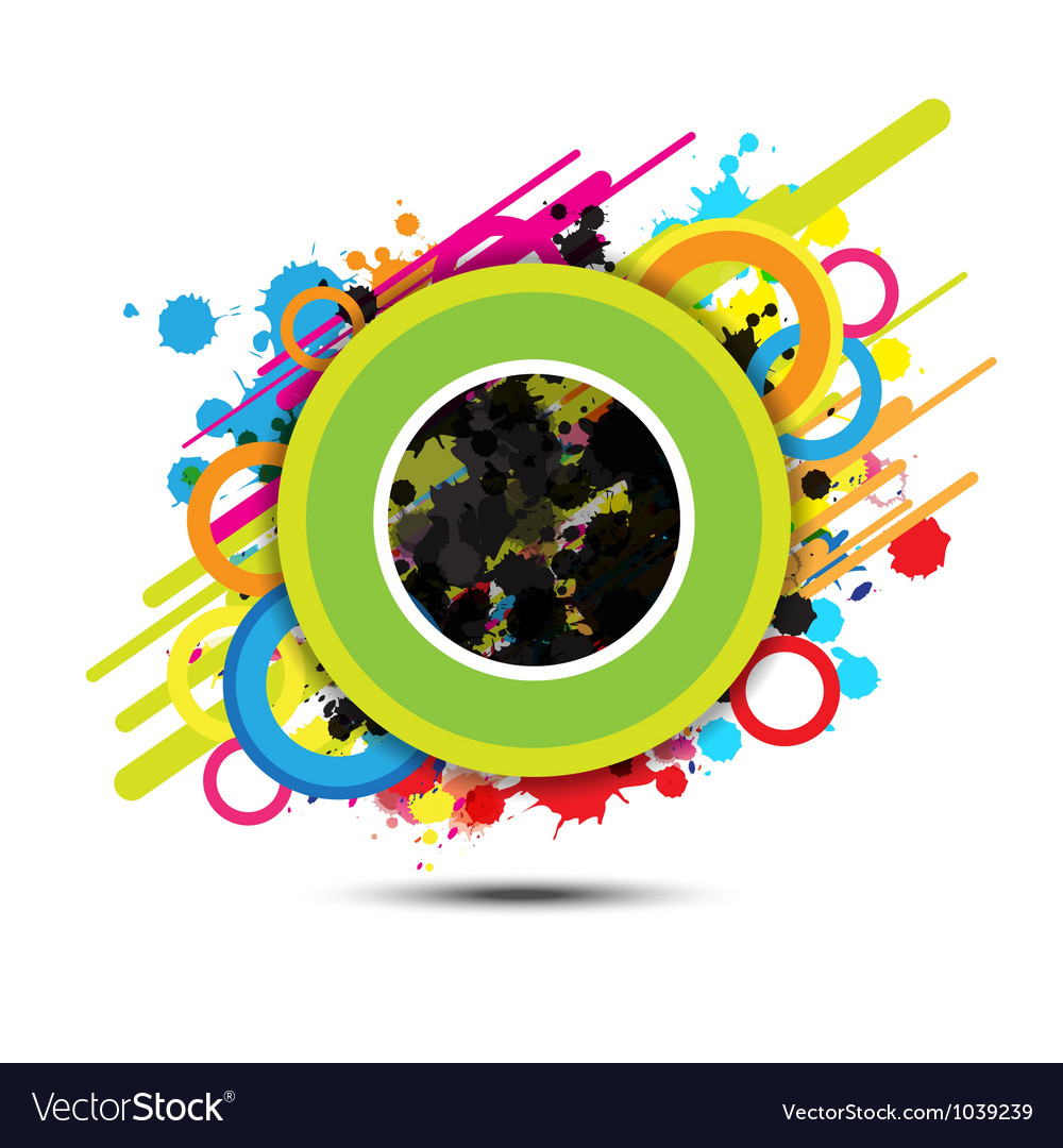 Abstract circle background design