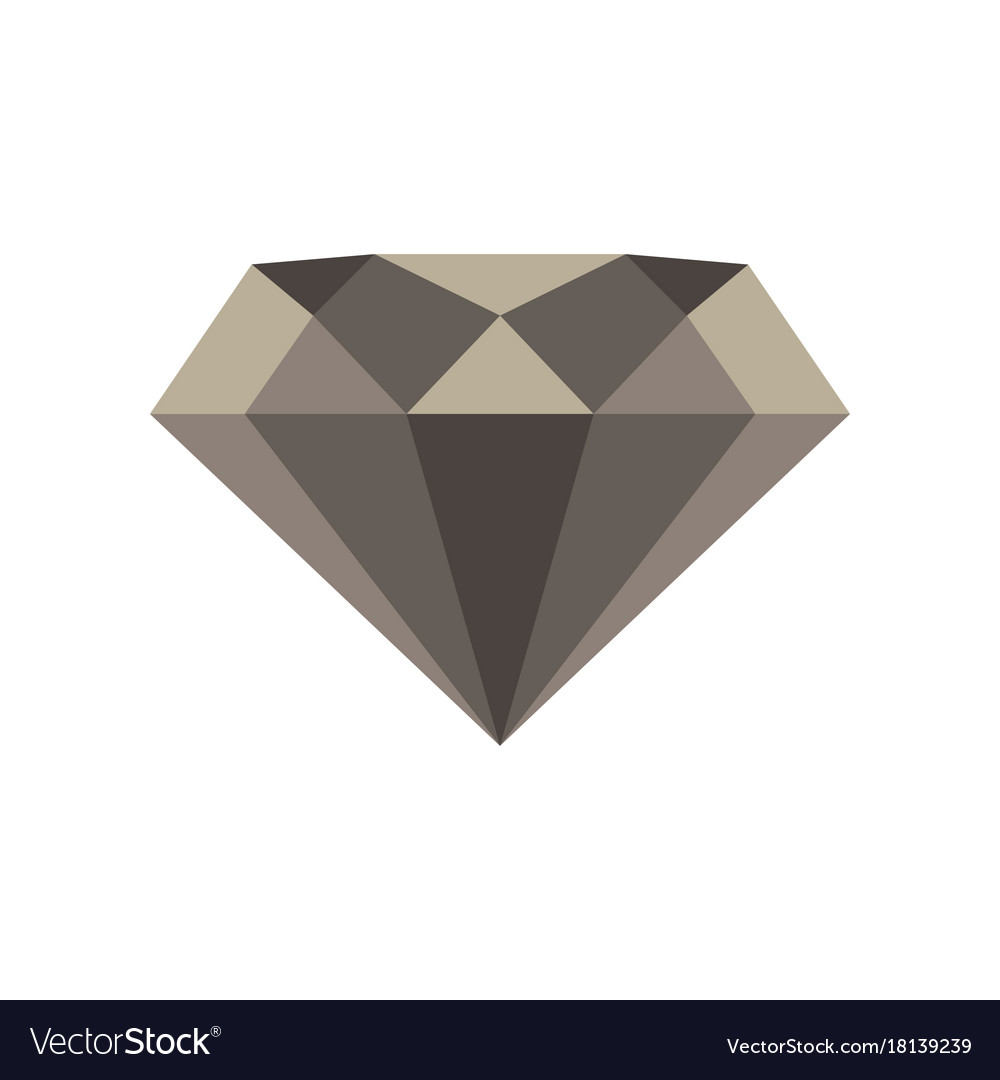 Diamond icon design isolated casino gift drawn