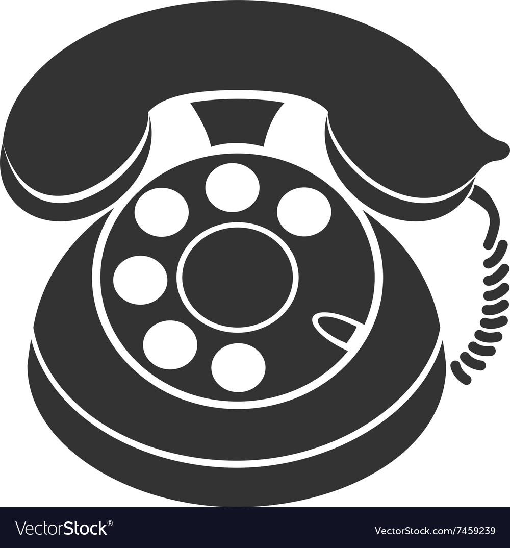 Phone Symbol Icon Royalty Free Vector Image Vectorstock