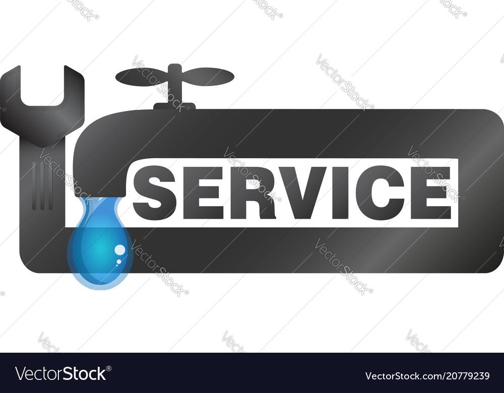 Repair of plumbing and sanitary equipment Vector Image