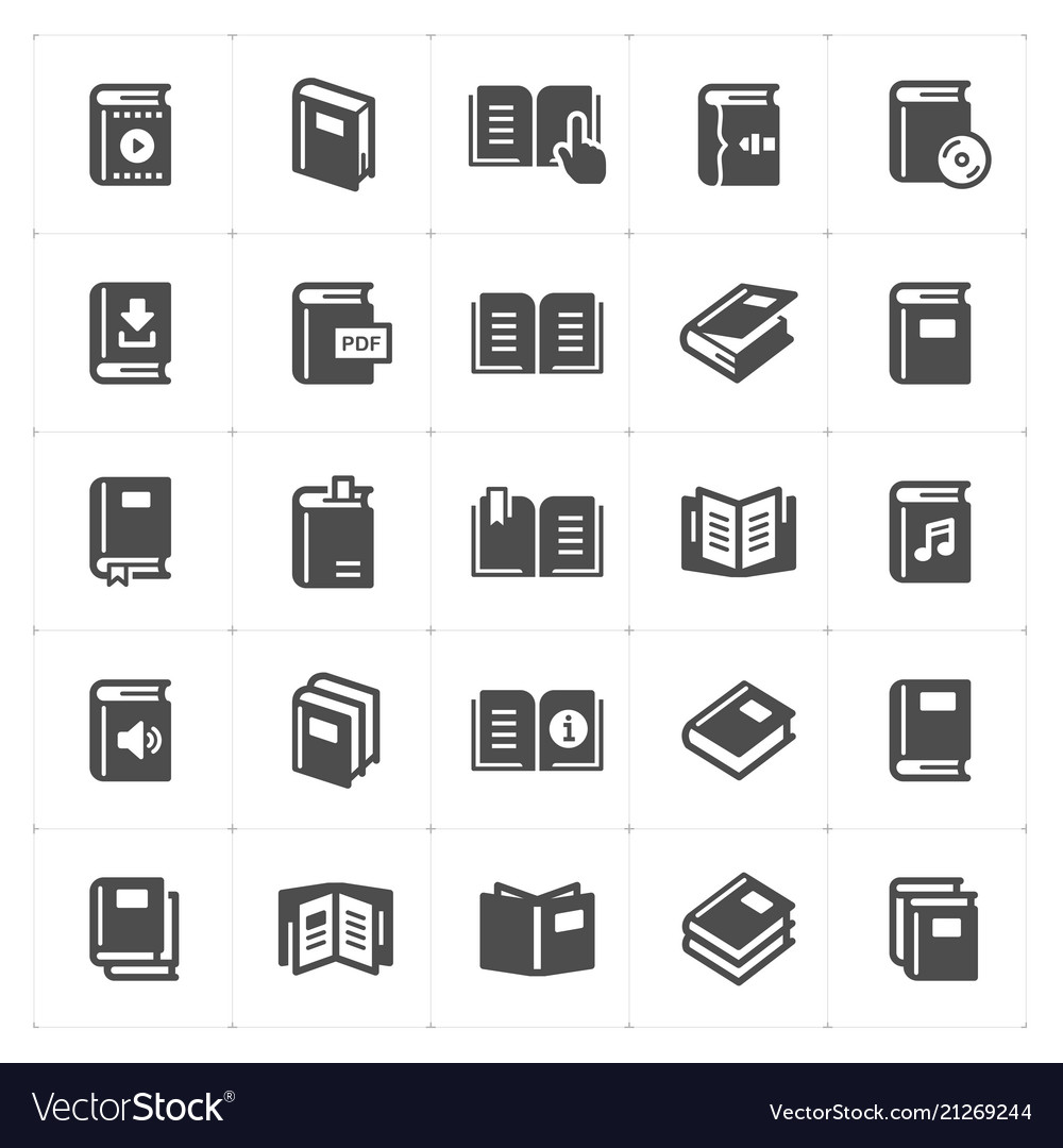 Book filled icon