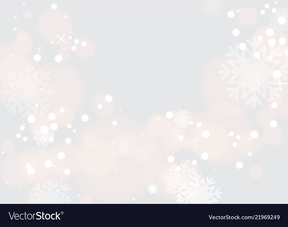 Background with beautiful snow