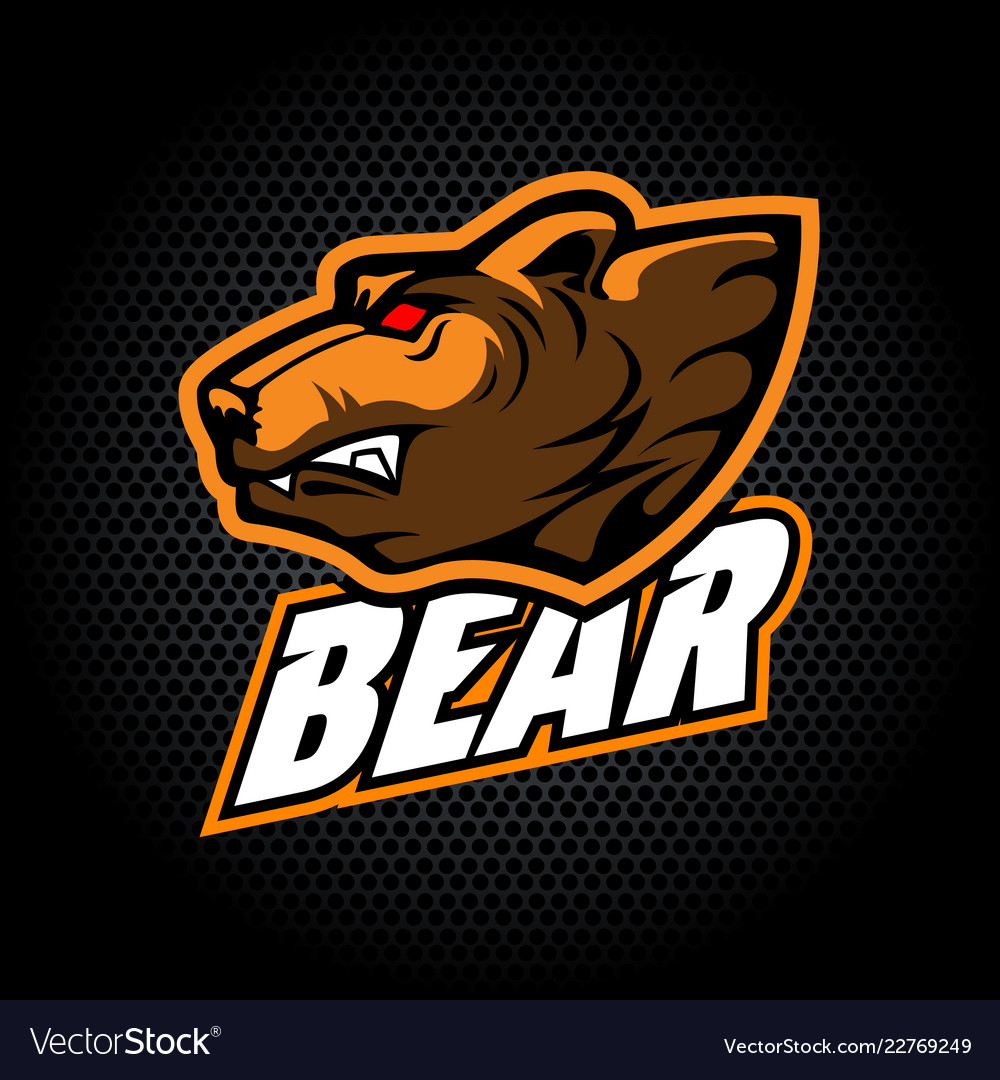 Head bear from side can be used for club or team
