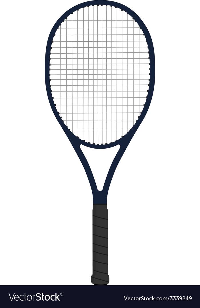 Racket tennis vector image