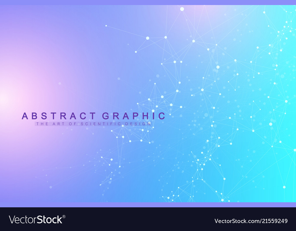 Technology abstract background with connected line