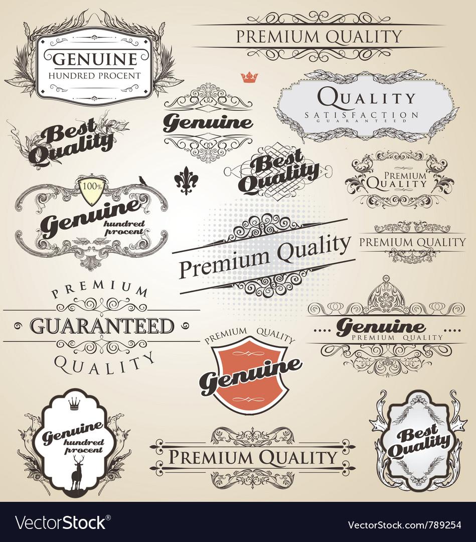 Premium quality and satisfaction guarantee vintage