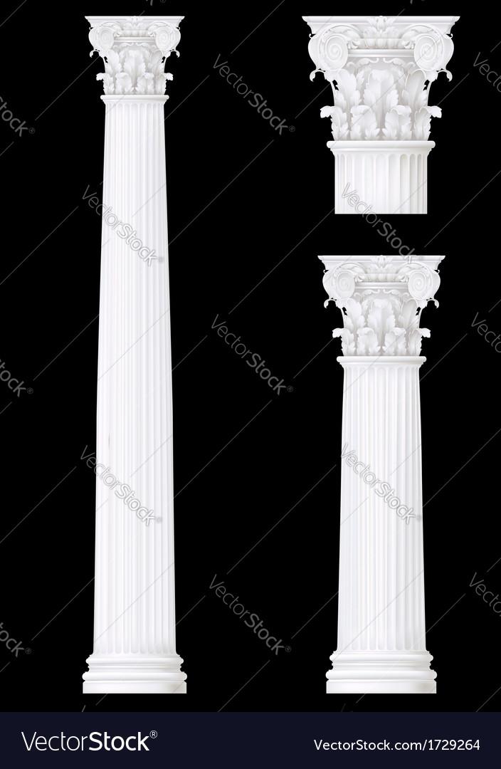Corithian column