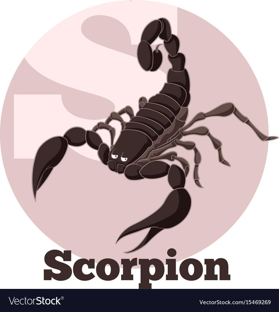 Abc cartoon scorpion