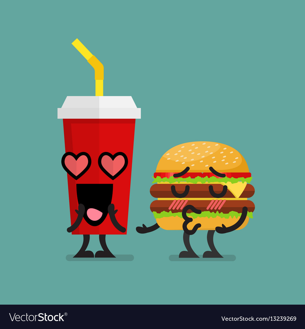 Fast food fall in love