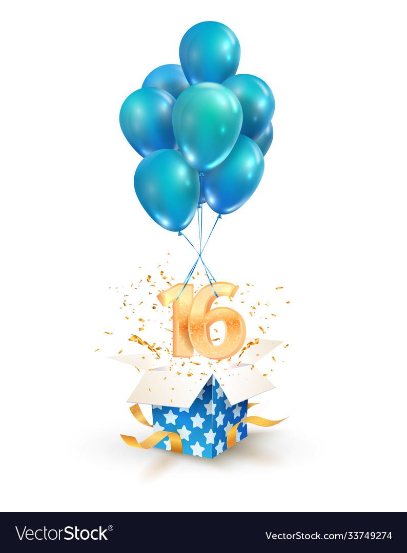16th years celebrations greetings sixteen