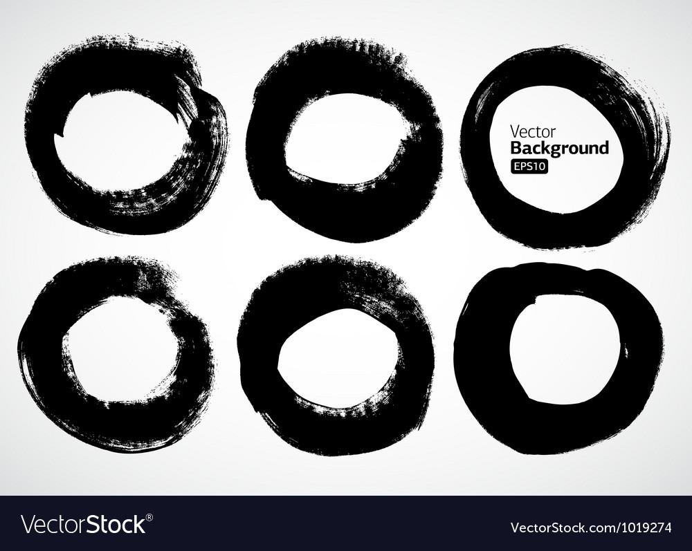 Ink frames set vector image