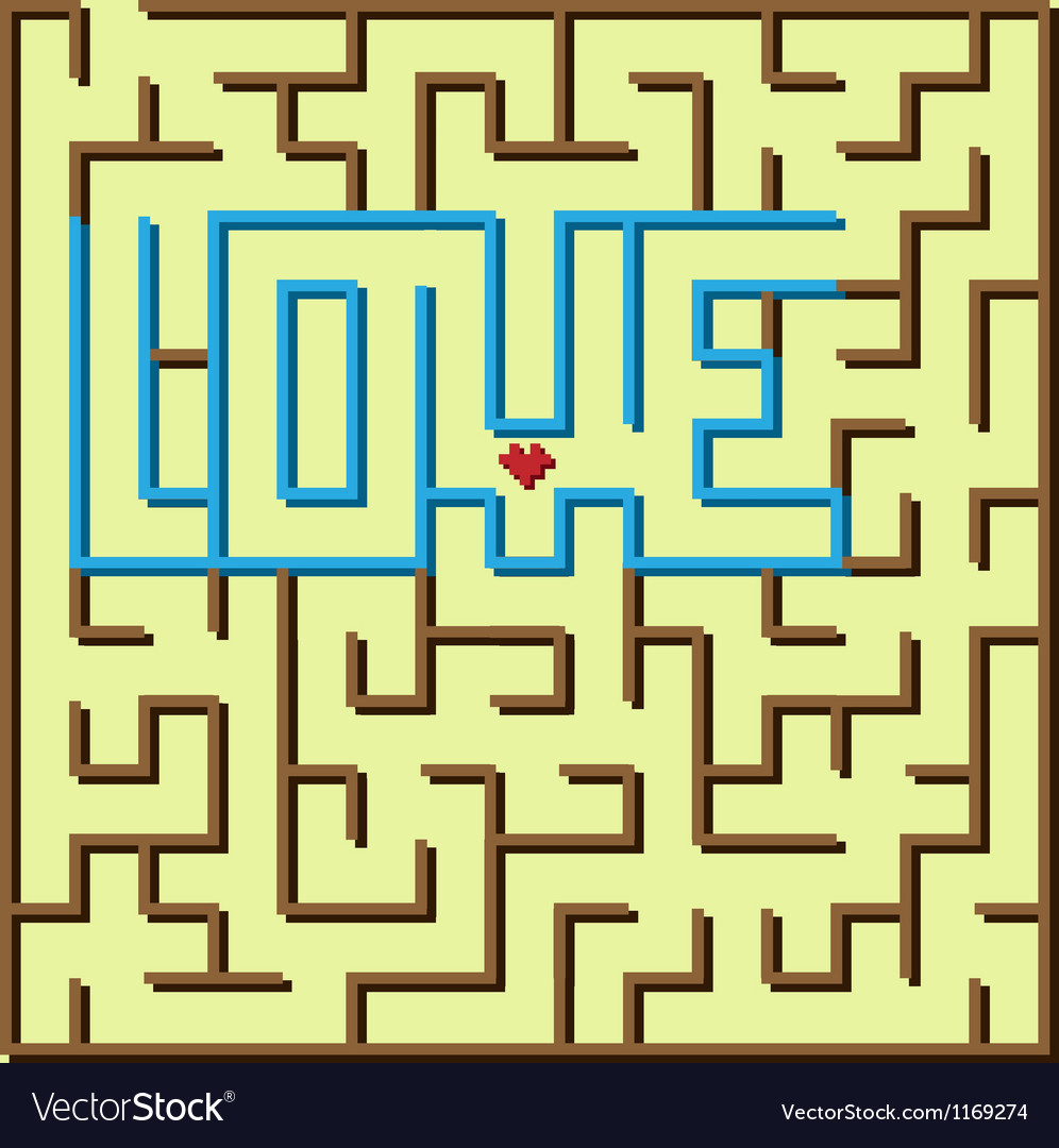 Love labyrinth game