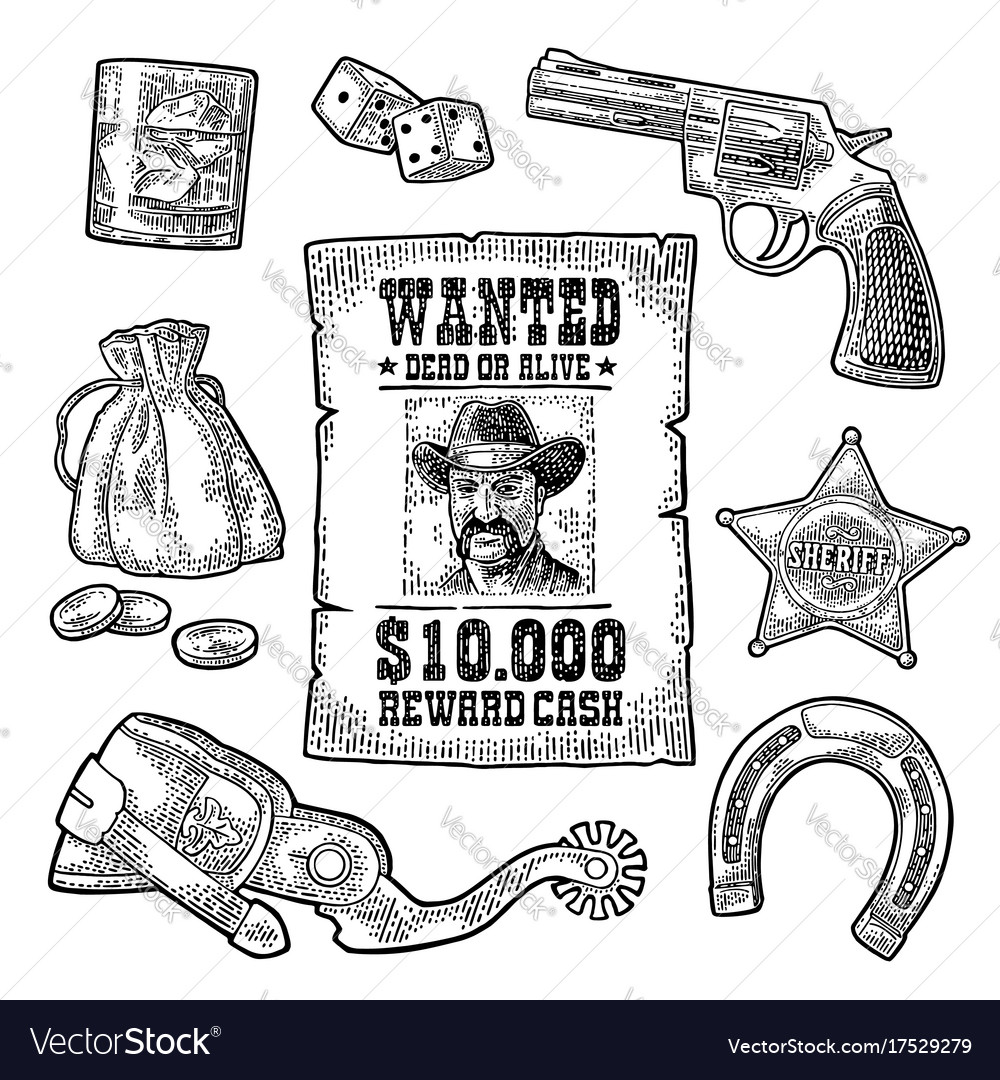 Wild West Symbols