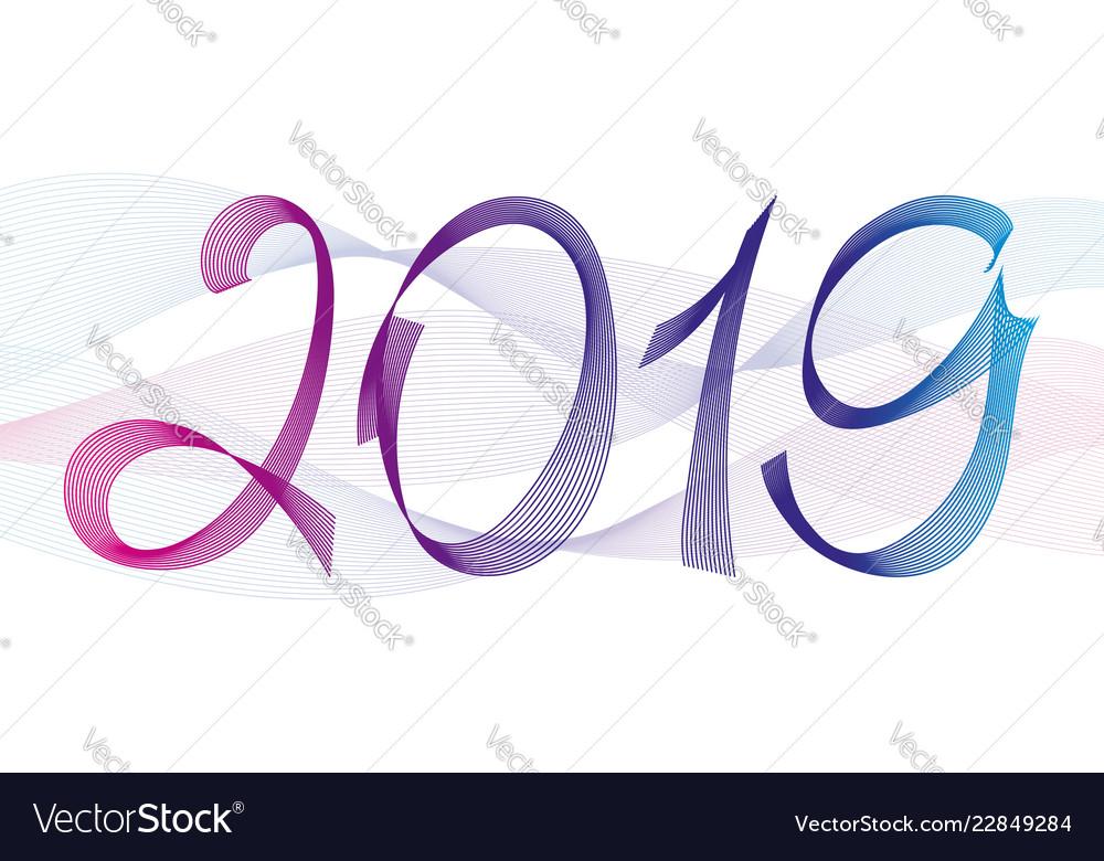 Blend line written 2019 phrase