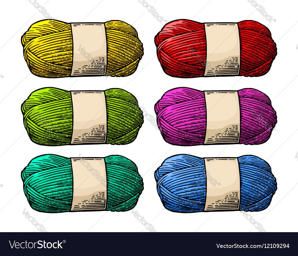 Det color roll yarn with woolen thread knitting