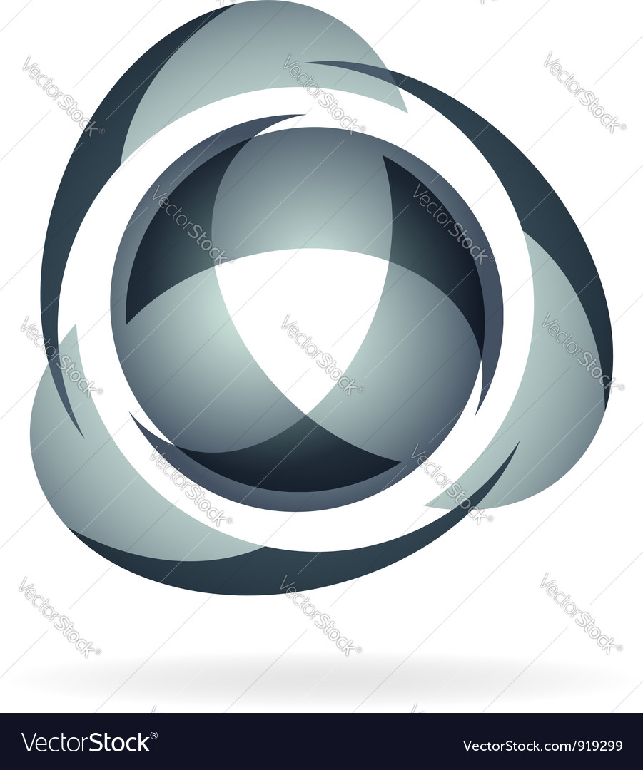 Company logotype vector image
