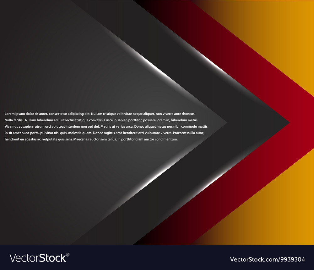 Black and red corporate tech striped graphic