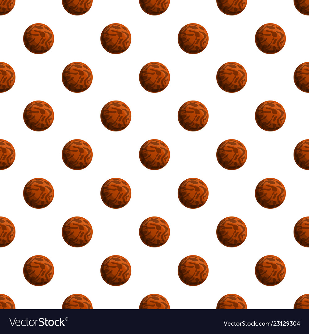 Choco lunch biscuit pattern seamless