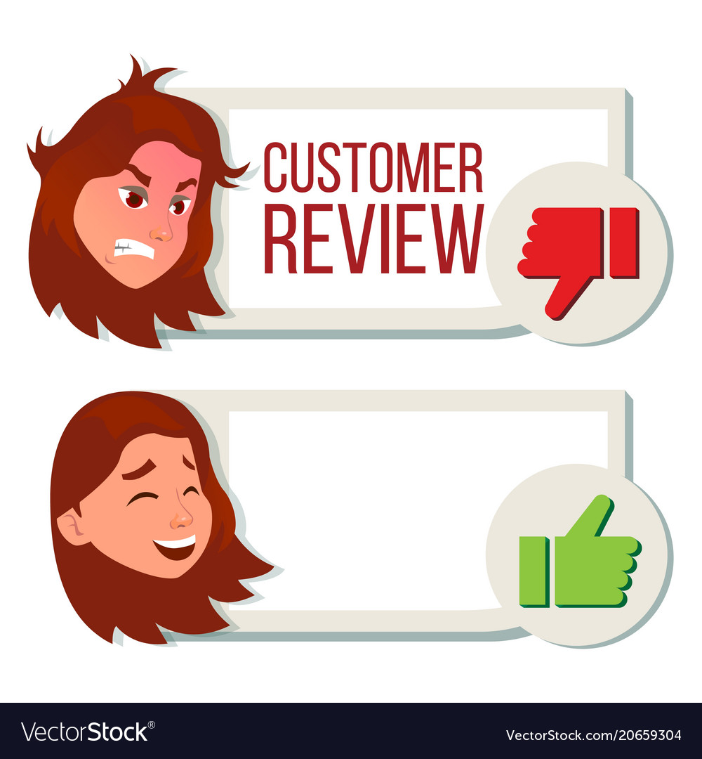 Customer review positive negative review