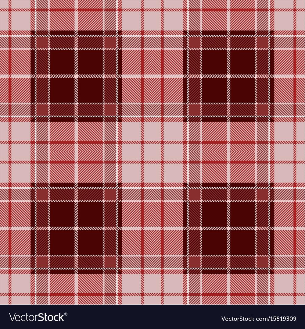 Red tartan plaid seamless pattern