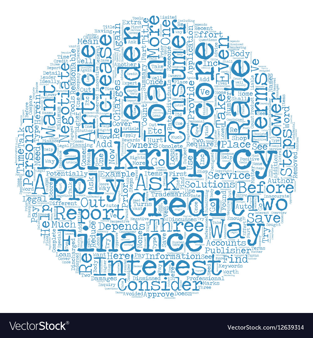 Loans After Bankruptcy >> Consumer Loan After Bankruptcy These Steps Could