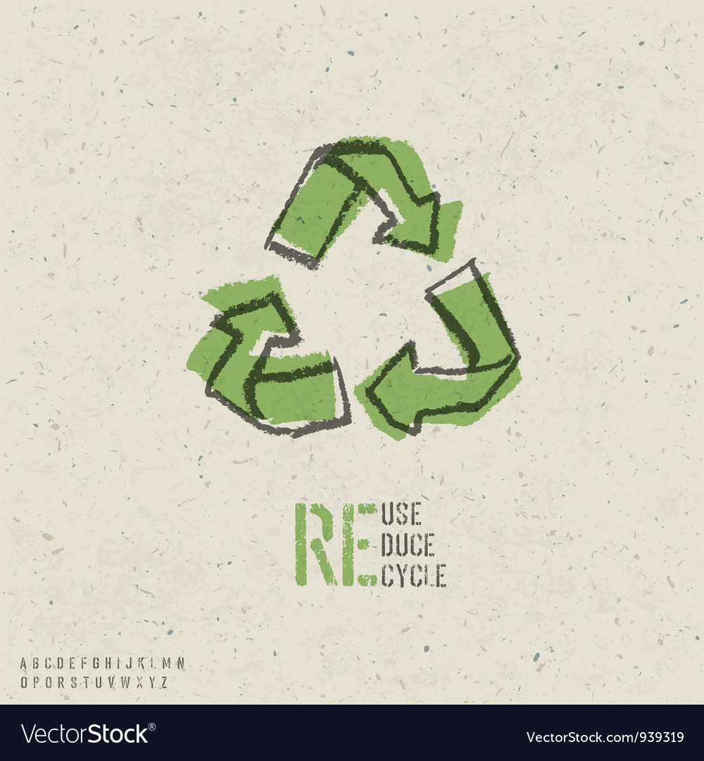 Reuse reduce recycle poster