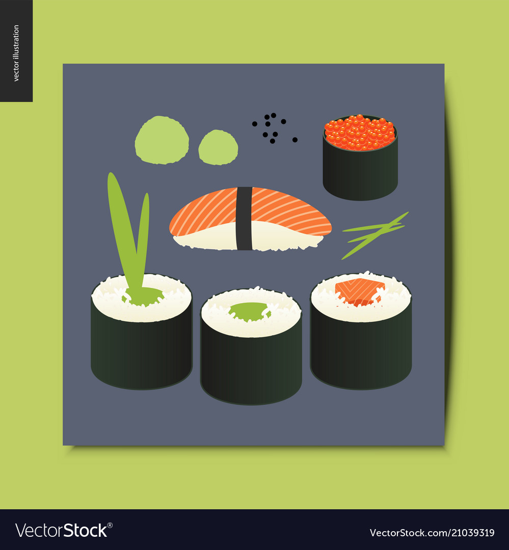 Simple things - sushi