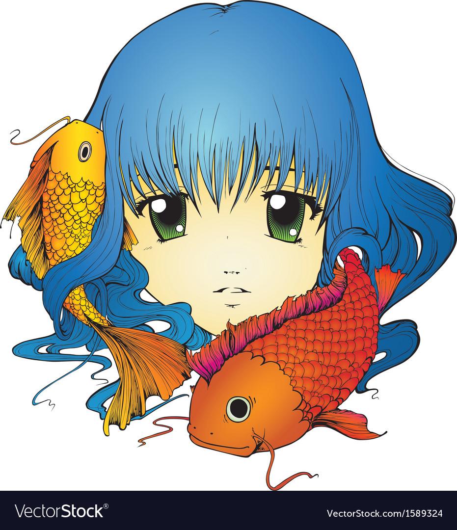 Koi Girl