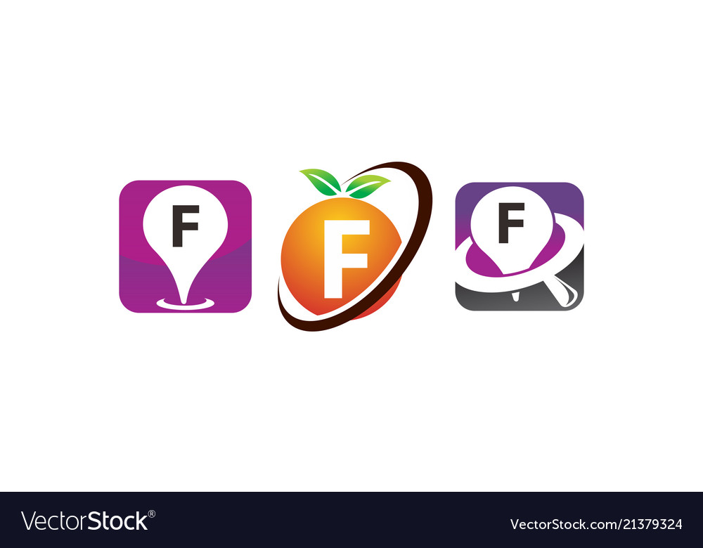Pin location fruit f template set