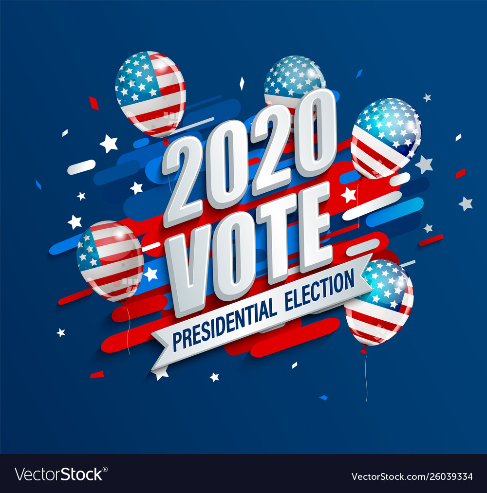 2020 usa presidential election dynamic banner
