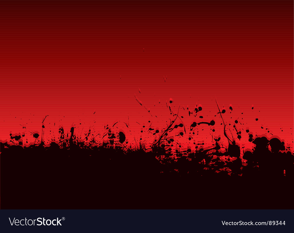 Abstract blood splat vector image