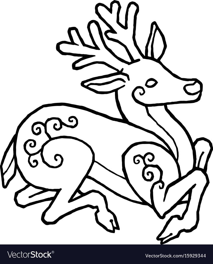 Decorative deer