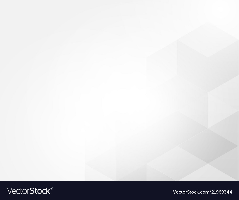 Gray white abstract hexagon background
