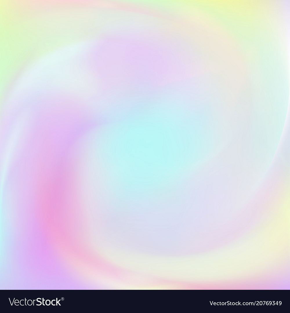 Abstract background with holographic effect